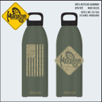 Maxpedition LB24FLAG MAXPEDITION 24oz Water Bottle FLAG