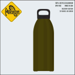 Maxpedition LB32MIL MAXPEDITION 32oz Water Bottle MILITARY