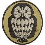 Maxpedition OWL3 Owl Patch  3 x 2.75