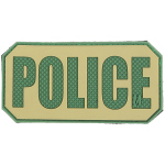 Maxpedition POLD POLICE Identification Patch  4 x 2
