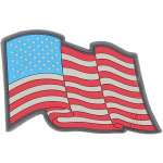 Maxpedition STSB Star Spangled Banner Patch  3 x 2