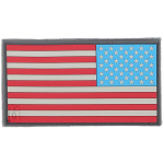 Maxpedition US2R Reverse USA Flag Patch Large  3.25 x 1.75