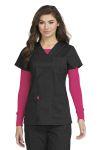 Med Couture 8496 V-Neck 3 Pocket Top