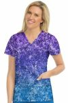 Med Couture 8597 In-Motion Classic Print Top