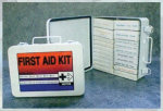 Premier Emblem 89280 Super 25 First Aid Kit Plastic