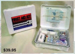 Premier Emblem 89285 Super 50 First Aid Kit Plastic