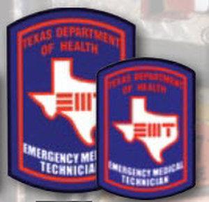 Premier Emblem D1752 Decal EMT Texas