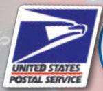Premier Emblem D2040 U.S. Postal Service Decal