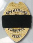 Premier Emblem E1077-1 Elastic Badge Cover