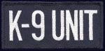 K-9 Unit Emblems