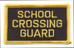 Premier Emblem E1355 3 School Crossing Guard Patch