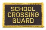 Premier Emblem E1355 3 School Crossing Guard Patch
