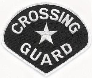 Premier Emblem E1371 School Crossing Guard Patch