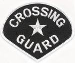 Premier Emblem E1371 School Crossing Guard Patch