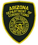 Premier Emblem E1381 Arizona Department of Corrections