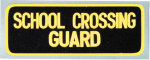 Premier Emblem E1390 4 X 11 School Crossing Guard Patch