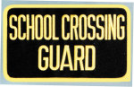 Premier Emblem E1395 5 X 9 School Crossing Guard Patch