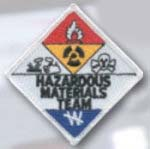 Premier Emblem E1437 3 Hazardous Materials Team Patch