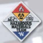 Premier Emblem E1437 3 Hazardous Materials Team Patch