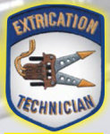Premier Emblem E1440 Extrication Technician Patch