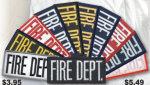 Premier Emblem E1450 2 X 4 Fire Dept Patch