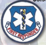 Premier Emblem E1587 3 Circle First Responder