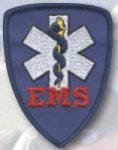 Premier Emblem E1588 2 7/8 X 3 1/2 EMS Shield