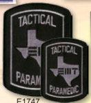 Premier Emblem E1747 Texas Paramedic Patch