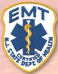Premier Emblem E1758 N.J. MICU Paramedic Patch