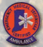 Premier Emblem E1806 Certified EMT Ambulance Patch