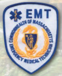 Premier Emblem E1860 Massachusetts EMT Emblems