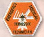 Premier Emblem E1875 Tennessee Paramedic Patch