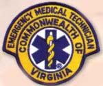 Premier Emblem E1900 Virginia Paramedic Rockers