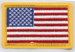 Premier Emblem E1920 1 1/2 X 2 1/2 Tiny American Flags