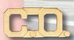Premier Emblem P2502 1/2 Cut Out Letters