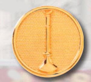 Premier Emblem P2618 1 ¼ Raised bugles on disc