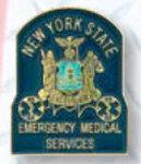 Premier Emblem P3180 State E.M.T. Collar Device Or Tie Tac