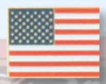 Premier Emblem P4206 American Flag Pin
