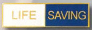 Premier Emblem P4769 LIFE SAVING - 1 3/8 x 3/8