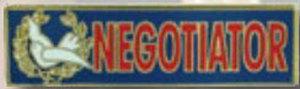 Premier Emblem P4773 NEGOTIATOR - 1 3/8 x 3/8