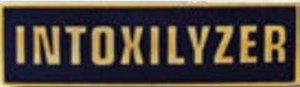 Premier Emblem P4783 INTOXILYZER - 1 3/8 x 3/8