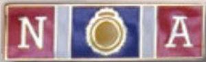 Premier Emblem P4785 FBI NATIONAL ACADEMY - 1 3/8 x 3/8