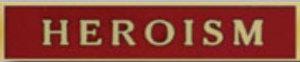 Premier Emblem P4793 HEROISM