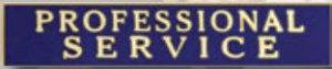 Premier Emblem P4794 PROFESSIONAL SERVICE