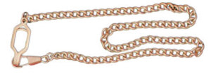 Premier Emblem P4912 Link Chain Epaulet Whistle