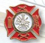 Premier Emblem P4941 EMS And Fire Tie Tac -   Maltese Cross