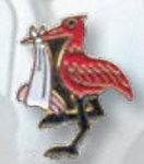 Premier Emblem P4952 Stork Tie Tacs
