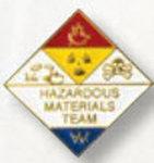 Premier Emblem P4964 Hazardous Materials Team