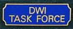 Premier Emblem PA10-13 DWI Task Force