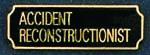 Premier Emblem PA10-2 Accident Reconstructionist